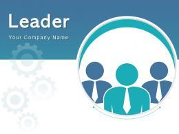 Leader Business Communicating Motivational Successful Success Goals Pyramid