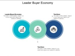 Leader Buyer Economy Ppt Powerpoint Presentation Outline Graphic Tips Cpb
