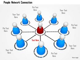 Leader Network Connection For Business Growth Ppt Graphics Icons