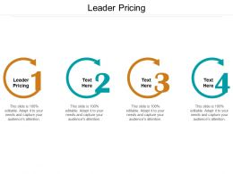 Leader Pricing Ppt Powerpoint Presentation Outline Graphics Design Cpb