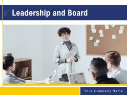 Leadership And Board Powerpoint Presentation Slides