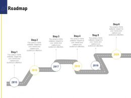 Leadership And Board Roadmap Ppt Powerpoint Presentation Styles Images