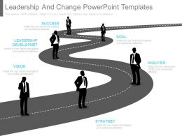 Leadership And Change Powerpoint Templates