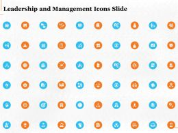 Leadership And Management Icons Slide Ppt Powerpoint Presentation Structure