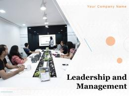 Leadership And Management Powerpoint Presentation Slides