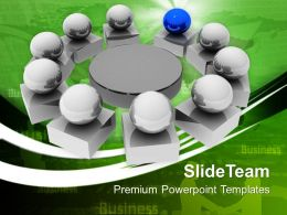 Leadership Business Meeting Powerpoint Templates Ppt Themes And Graphics 0313