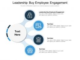 Leadership Buy Employee Engagement Ppt Powerpoint Presentation Show Deck Cpb