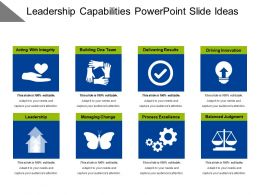 Leadership Capabilities Powerpoint Slide Ideas