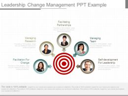 Leadership Change Management Ppt Example