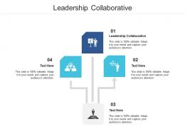 Leadership Collaborative Ppt Powerpoint Presentation File Background Image Cpb
