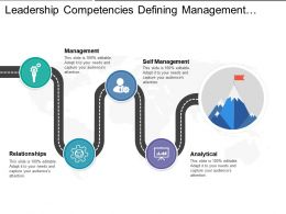 Leadership Competencies Defining Management Relationships And Analytical