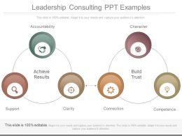 Leadership Consulting Ppt Examples