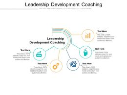 Leadership Development Coaching Ppt Powerpoint Presentation File Inspiration Cpb