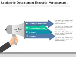 Leadership Development Executive Management Development Program Talent Management Cpb