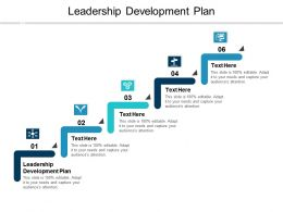 Leadership Development Plan Ppt Powerpoint Presentation Infographic Template Summary Cpb