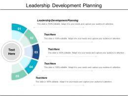 Leadership Development Planning Ppt Powerpoint Presentation Infographics Slides Cpb