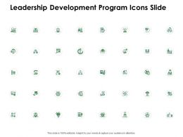 Leadership Development Program Icons Slide Ppt Powerpoint Presentation Professional Outfit