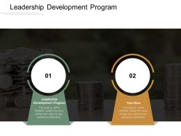 Leadership Development Program Ppt Powerpoint Presentation File Graphics Cpb