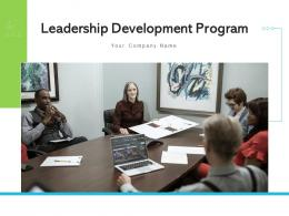 Leadership Development Program Project Manager Team Leader Learning Experience