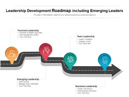 Leadership Development Roadmap Including Emerging Leaders