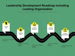 Leadership Development Roadmap Including Leading Organisation