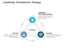 Leadership Development Strategy Ppt Powerpoint Presentation Gallery Themes Cpb