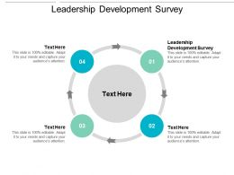 Leadership Development Survey Ppt Powerpoint Presentation Infographics Layout Cpb