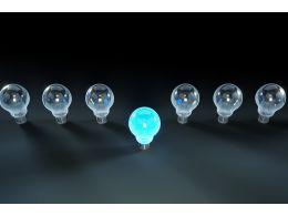 leadership_display_with_glass_bulbs_stock_photo_Slide01