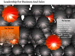 Leadership For Business And Sales Image Graphics For Powerpoint