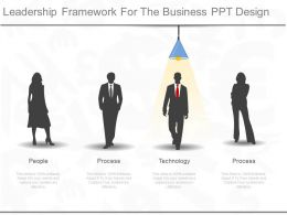 Leadership Framework For The Business Ppt Design