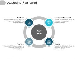 Leadership Framework Ppt Powerpoint Presentation File Slide Download Cpb