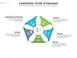Leadership Goals Employees Ppt Powerpoint Presentation Professional Introduction Cpb