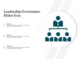 Leadership Governance Slides Icon
