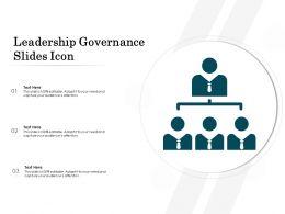 Leadership Governance Slides Icon