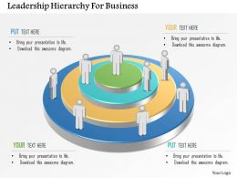 Leadership Hierarchy For Business Powerpoint Template