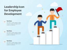 Leadership Icon For Employee Development