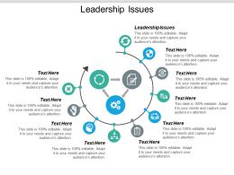 Leadership Issues Ppt Powerpoint Presentation Styles Slide Cpb