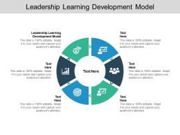 Leadership Learning Development Model Ppt Powerpoint Show Cpb