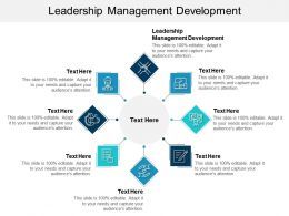 Leadership Management Development Ppt Powerpoint Presentation Slides Graphic Tips Cpb