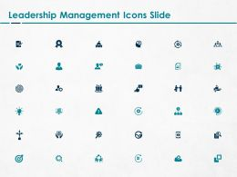 Leadership Management Icons Slide L1267 Ppt Powerpoint Gallery
