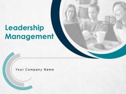 Leadership Management Powerpoint Presentation Slides