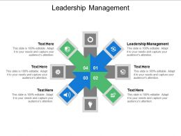 Leadership Management Ppt Powerpoint Presentation Styles Guide Cpb