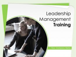 Leadership Management Training Powerpoint Presentation Slides
