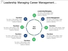 Leadership Managing Career Management Investment Banking Marketing Research Cpb