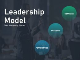 Leadership Model Ppt Inspiration Infographic Template Connection To Community