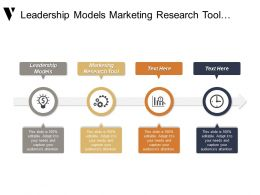 Leadership Models Marketing Research Tool Marketing Analysis Managing Sales