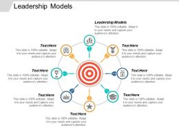 Leadership Models Ppt Powerpoint Presentation Icon Background Cpb