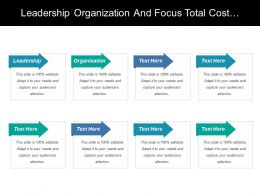 Leadership Organization And Focus Total Cost Ownership