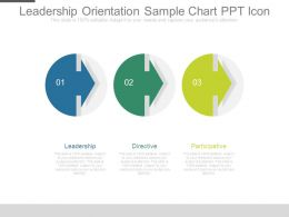 Leadership Orientation Sample Chart Ppt Icon