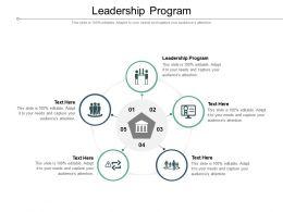 Leadership Program Ppt Powerpoint Presentation Gallery Show Cpb